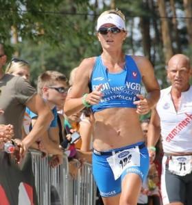 Wenke Kujala Rothsee Triathlon 2012 Lauf
