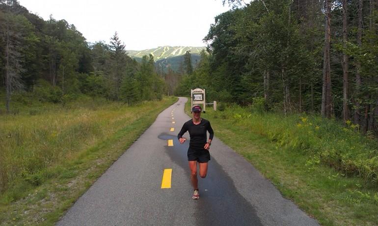 3 Wochen nach Ihrem Sieg in Zürich steht Anja in Canada gleich wieder auf dem Treppchen