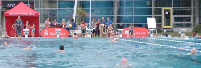 2. Challenge Swim Night am 17. August 2013: Jede Bahn zählt!