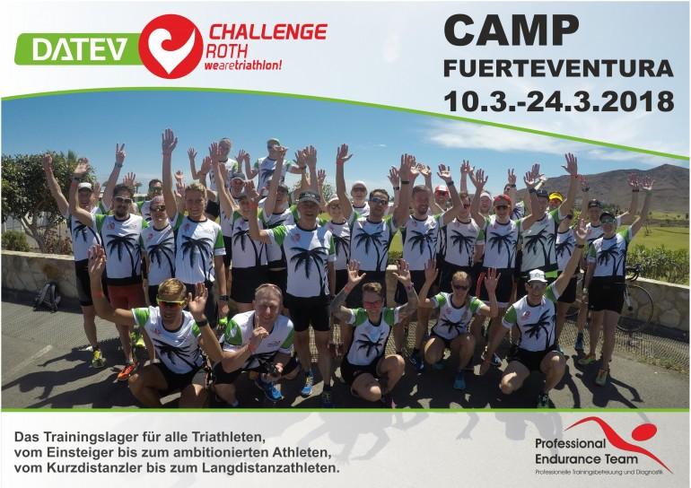 DATEV Challenge Roth Camp Fuerteventura 10.3.-24.3.2018
