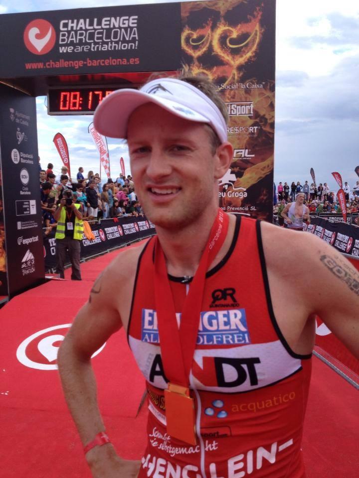 Challenge Barcelona – Fabian Conrad auf Platz 6 – Nancy Nöske 2te in AK