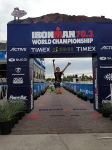 Sina Mikolaizik Ironman 70.3 Las Vegas