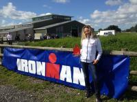 Sandra Stopp Ironman Wales 2013