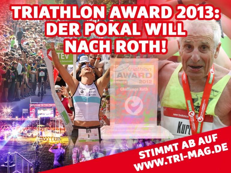 Triathlon Awards 2013 – Eure Stimme ist gefragt!