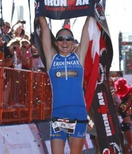 Simone Brändli Finish IM SA 2014