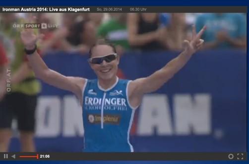 Simone Brändli – 8:49h und Platz 2 beim IM Klagenfurt