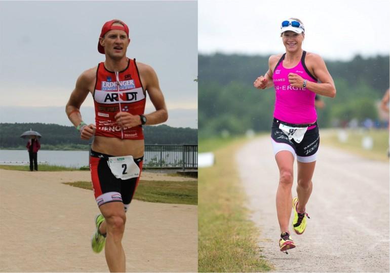 Memmert Rothsee Triathlon – Anja Beranek gewinnt überlegen, Fabi Conrad stark auf Platz 2