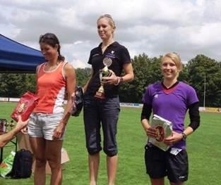 2. Platz für Nadja Krumm beim Königsbrunner Triathlon