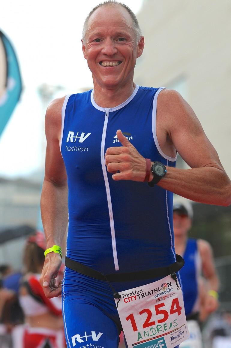 Andreas Bode – erneut ganz vorne beim City Triathlon Frankfurt