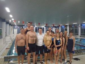 Schwimmseminar für die Triathleten des Post SV Nürnberg