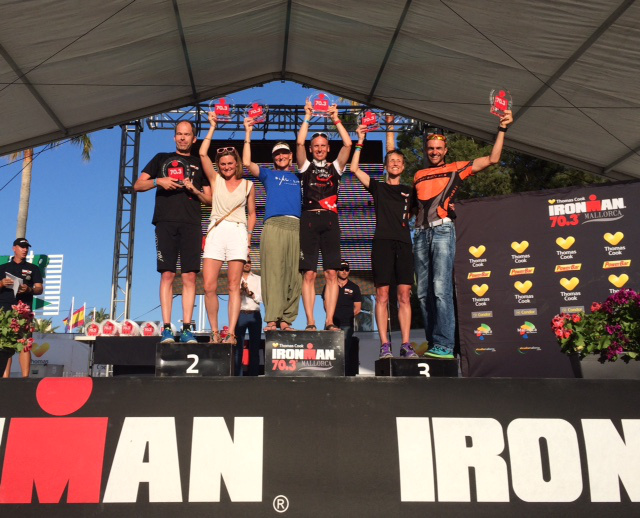 Walter Reichmuth – Ironman 70.3 Mallorca 2015…