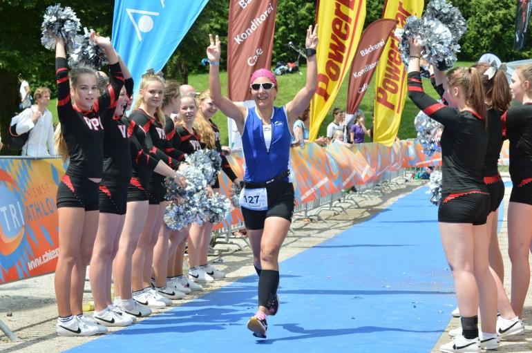 Simone Bayer – Teamspirit beim Chiemsee-Triathlon wiegt mehr als 45 verflixte Sekunden