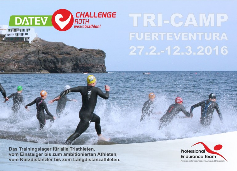 DATEV Challenge Roth Tri-Camp 2016