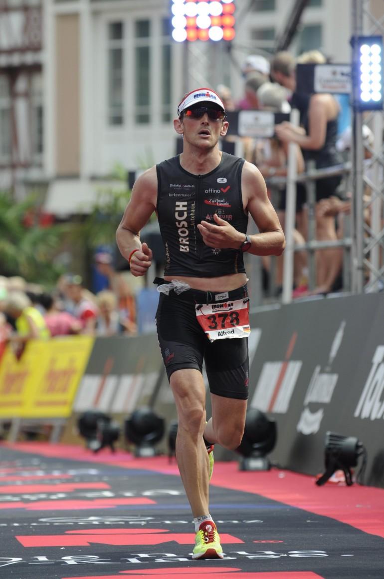 Alfred Ledermann – 3. Hawaii Qualifikation beim Ironman Frankfurt abgeholt