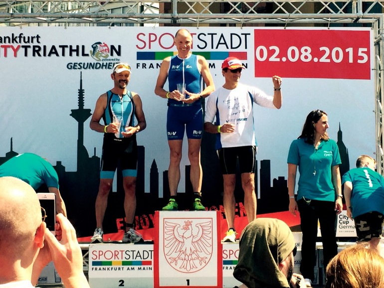 Andreas Bode – Frankfurt City Triathlon reloaded (3. AK Sieg beim dritten Start)