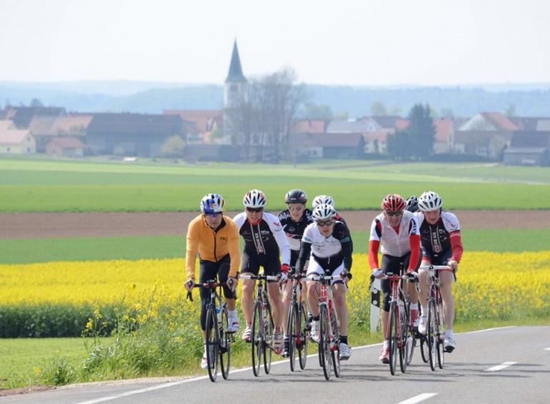 11. DATEV Challenge Roth Streckenbesichtigung – Wettergott war Triathlet