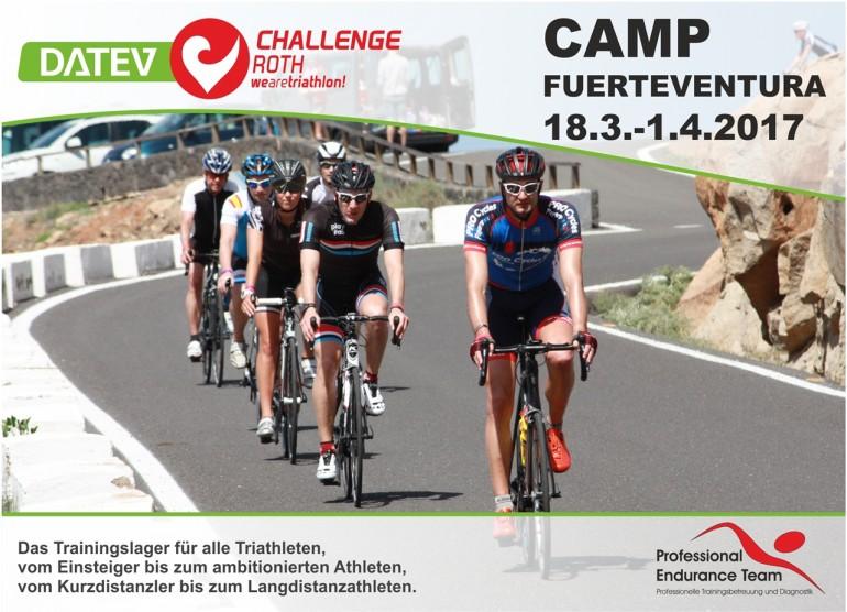 DATEV Challenge Roth Camp auf Fuerteventura vom 18.3.-1.4.2017