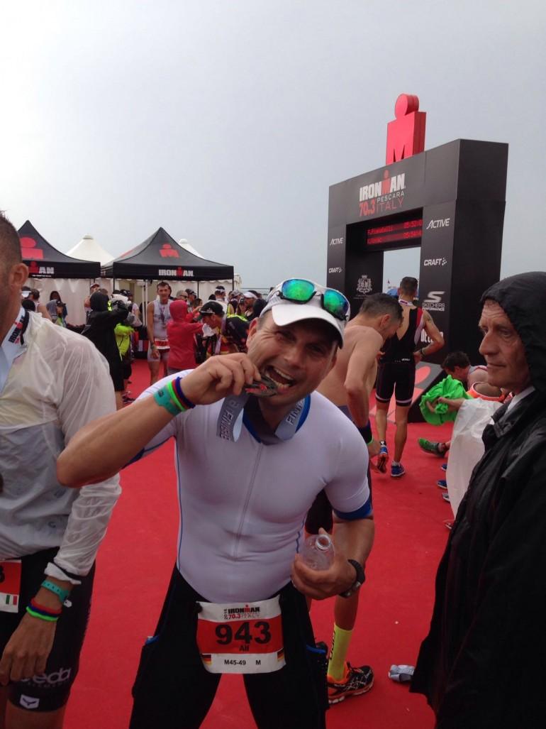 Alf Müller – Bike and Run beim Ironman 70.3 Pescara