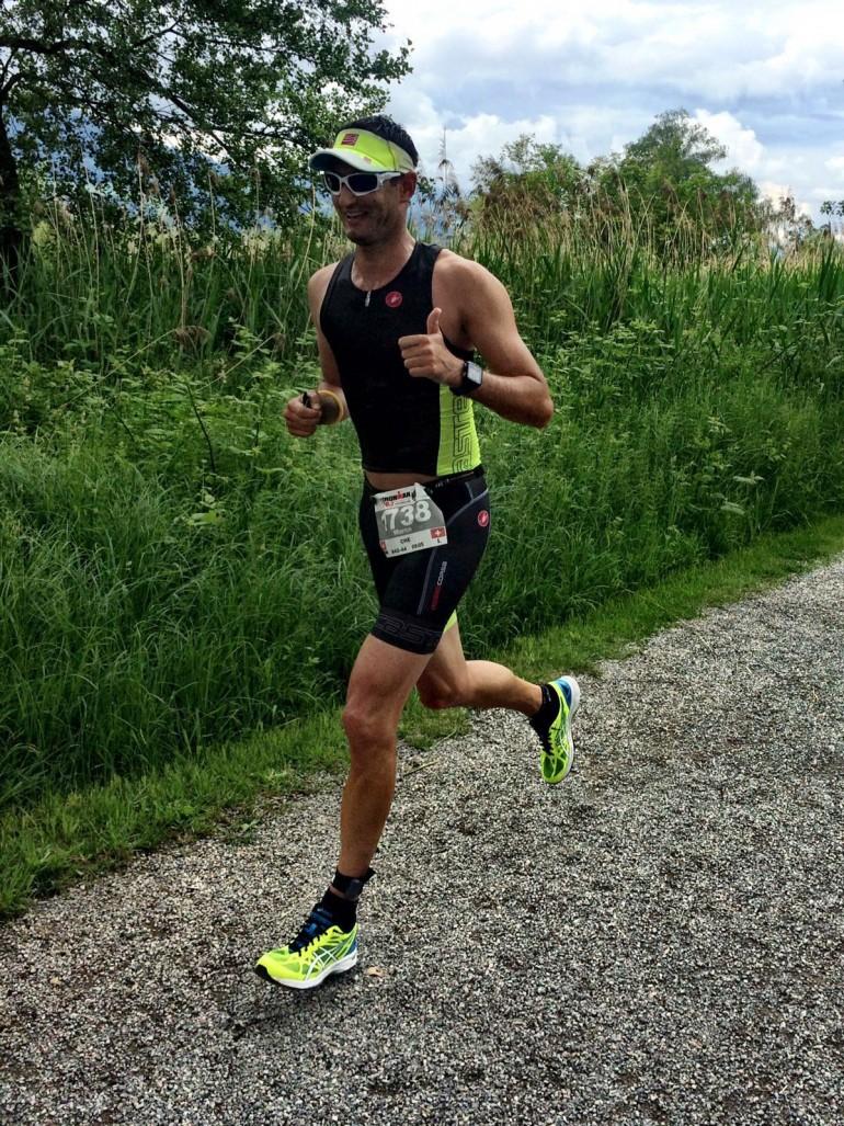 Marco Schwab – mit Bestzeit in Richtung Challenge Roth