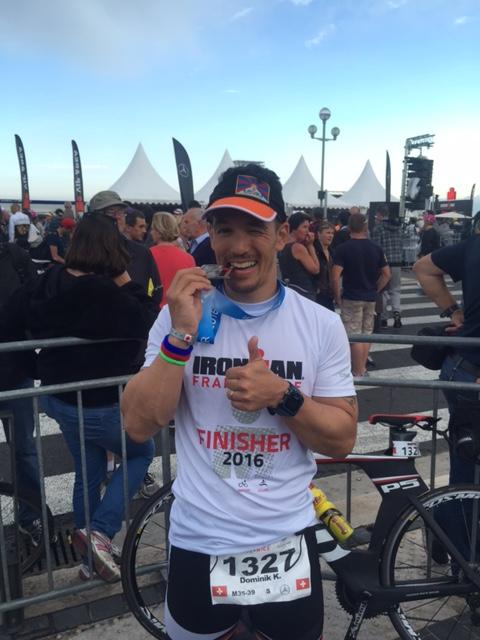 Dominik Erne – Personal Best beim Ironman in Nizza