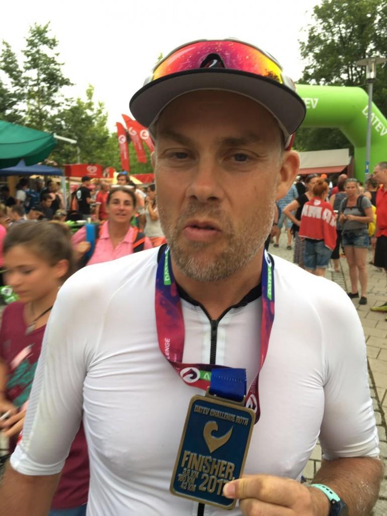 Mikael Geiger – der Zieleinlauf in Roth war ein unbeschreibliches Erlebnis