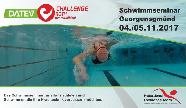 DATEV Challenge Roth Schwimmseminar 4./5.11.2017
