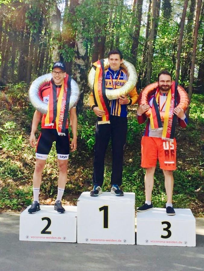 Johannes Nehls wird 2ter bei den bayerischen Meisterschaften im Zeitfahren