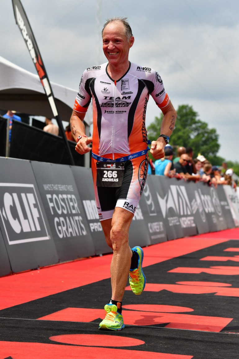 Andreas Bode – Platz 1 beim Eagleman in Maryland