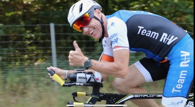 Andreas Bode – next step to Kona – City Triathlon Frankfurt