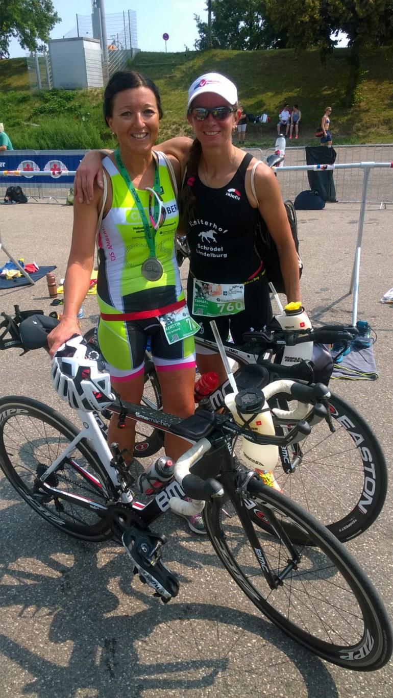 Kerstin Hagerer – Platz 5 beim Triathlon in Regensburg
