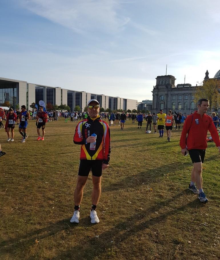 Frank Kaldun – Marathon Berlin – kaum 1 Meter ohne Zuschauer