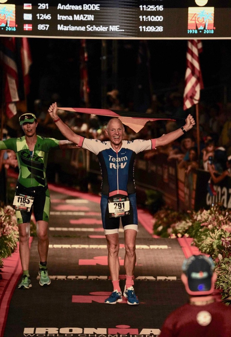 """Andreas Bode – """"You are an Ironman"""" – Emotionen pur"""