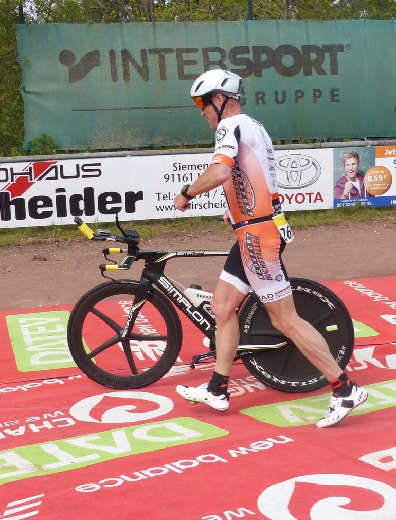 Andreas Bode – Saisoneinstieg beim Duathlon Hilpoltstein
