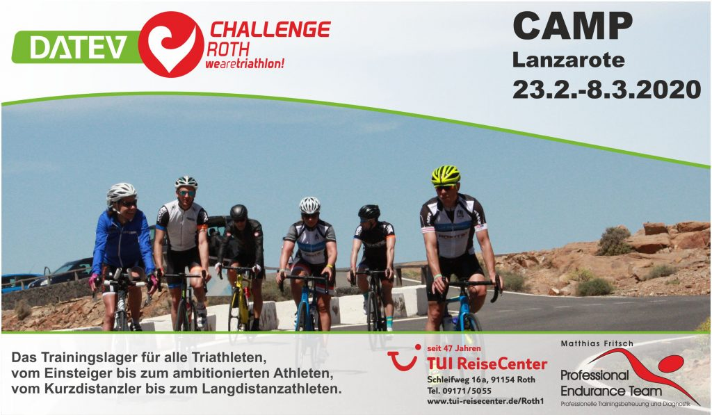 DATEV Challenge Roth Camp 2020 Lanzarote
