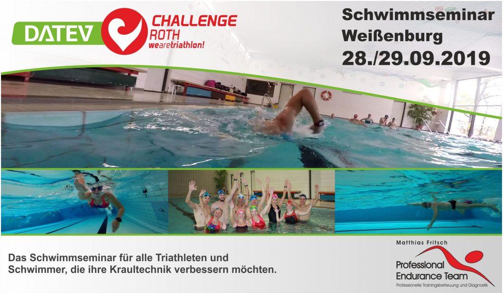 DATEV Challenge Roth Schwimmseminar