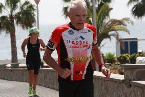 Peter Mueller im DATEV Challenge Trainingslager auf Fuerteventura