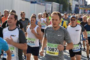 Franz Stadler beim Stadtlauf in Neumarkt