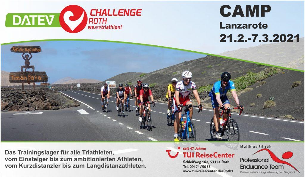 Challenge Roth Camp Lanzarote vom 21.2. bis 7.3.2021