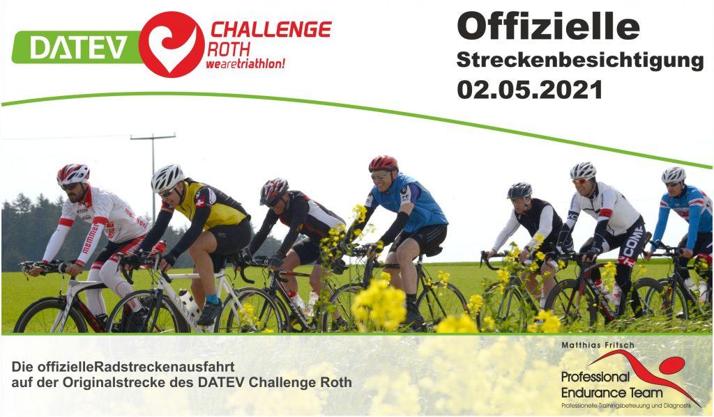 DATEV Challenge Roth Streckenbesichtigung 2.5.2021
