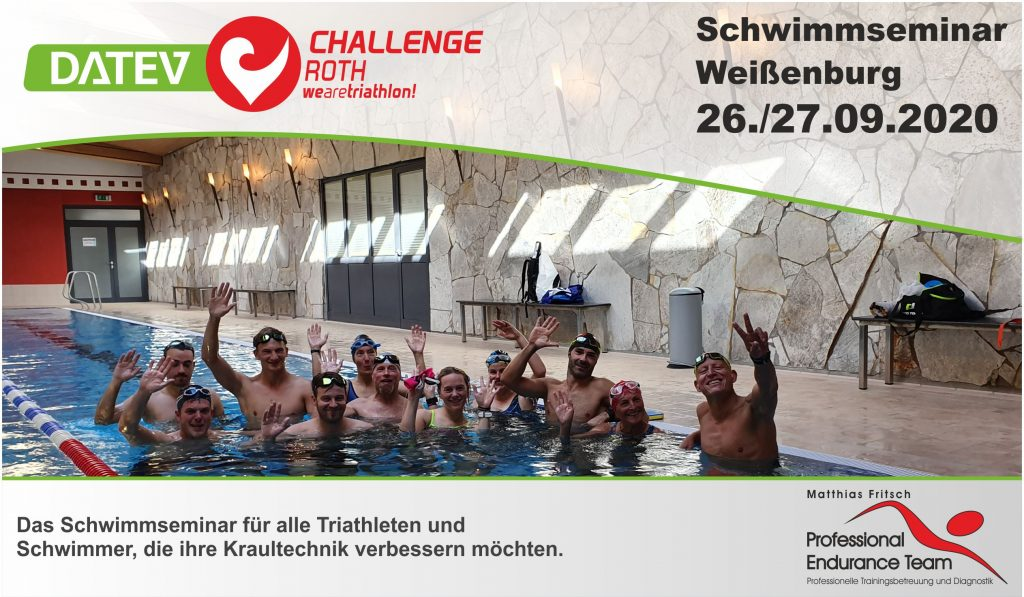Challenge Roth Schwimmseminar 26./27.9.2020