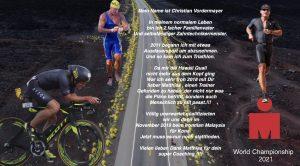 Christian Vordermayer auf dem Weg zum Ironman Hawaii