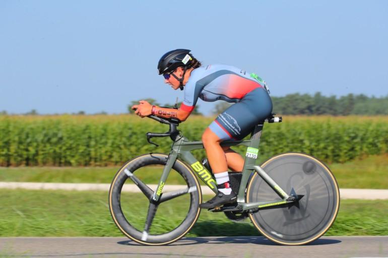 Susanne Eigner – Viertschnellste Radzeit bei den Damenstaffeln