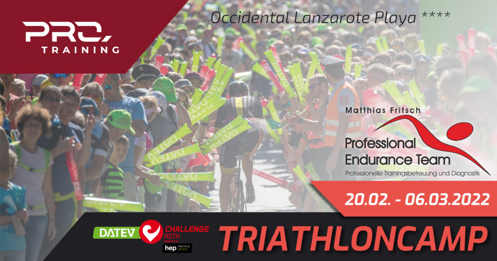 DATEV CHallenge Roth Triathloncamp powered by Hep